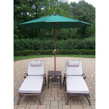 Mississippi 5 Piece Lounge Seating Group Set