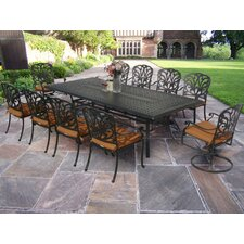 Hampton Dining Set with Cushions