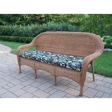 <strong>Oakland Living</strong> Resin Wicker 3 Seater Sofa