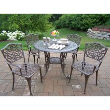 <strong>Oakland Living</strong> Mississippi 5 Piece Semi Dining Set