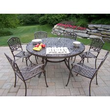 <strong>Oakland Living</strong> Mississippi 7 Piece Dining Set