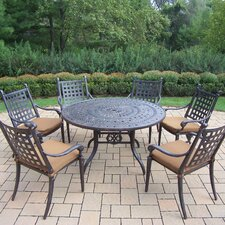 <strong>Oakland Living</strong> Belmont Round Dining Set with Cushions