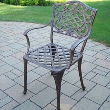 <strong>Oakland Living</strong> Mississippi Dining Arm Chairs (Set of 2)