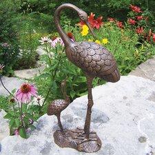 Nurturing Cranes Statue