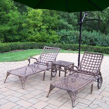 Elite 3 Piece Lounge Seating Group Set