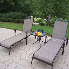 <strong>Oakland Living</strong> Cascade 3 Piece Lounge Seating Group