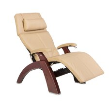 Perfect Chair Classic Manual Zero-Gravity Leather Recliner