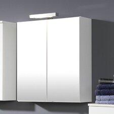"""Spiegelschrank """"Blanco"""" mit 2 Türen und Beleuchtung"""