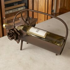 <strong>Napa Home and Garden</strong> Betty Sewell Vin Rose Wine Bottle Holder