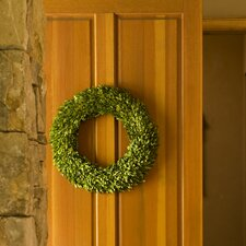 Preserved Boxwoods Preserved Greens Wreath