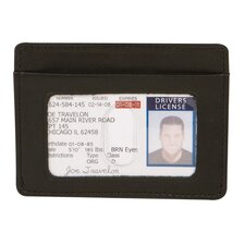 RFID Blocking Cash and Card Sleeve