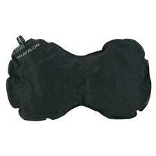 Travel Comfort Self Inflating Neck and Back Pillow