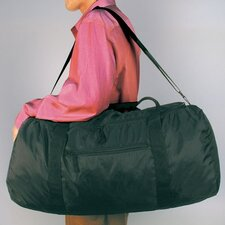 "24"" Black Stow-Away Travel Duffel"