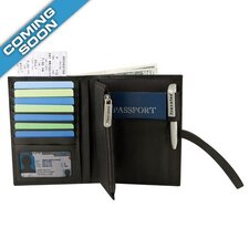 <strong>Travelon</strong> RFID Blocking Leather Wallet Organizer
