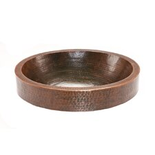 <strong>Premier Copper Products</strong> Oval Skirted  Vessel Bathroom Sink