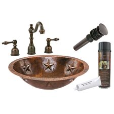 Star Under Counter Hammered Sink