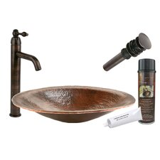 <strong>Premier Copper Products</strong> Old World Hand Forged Vessel Sink