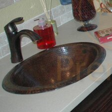Oval Self Rimming Bathroom Sink
