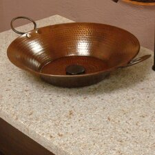 <strong>Premier Copper Products</strong> Miners Pan Vessel Bathroom Sink