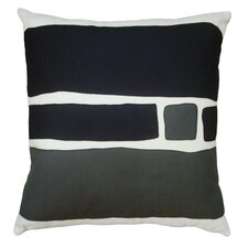 <strong>Balanced Design</strong> Big Block Applique Pillow