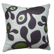 Big Pods Applique Pillow