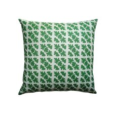 <strong>Balanced Design</strong> Hand Printed Canvas Shade Check Pillow