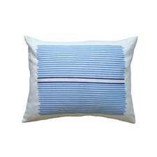 <strong>Balanced Design</strong> Hand Printed Linen Pillow Louis Stripe