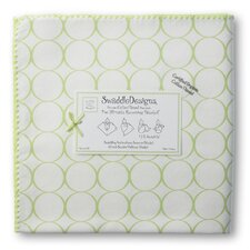 Organic Ultimate Receiving Blanket® in Pastel Mod Circles on Ivory