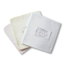 Ultimate Receiving Blanket® in Pastel with Polka Dots and Pastel Trim