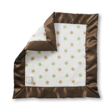 Baby Lovie in Kiwi Gold and Pastel Dots with Mocha Trim