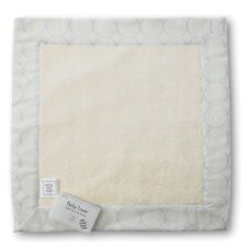 <strong>Swaddle Designs</strong> Certified Organic Cotton Baby Lovie in Pastel with Mod Circles on Ivory