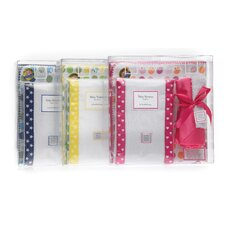 3 Piece Gift Set in Star with Multi Dots