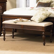 <strong>Liberty Furniture</strong> Royal Solid Wood Bedroom Bench