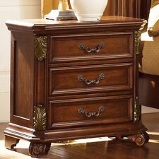 <strong>Liberty Furniture</strong> Messina Estates 3 Drawer Nightstand