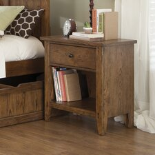 <strong>Liberty Furniture</strong> Hearthstone 1 Drawer Nightstand