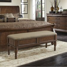 Rustic Traditions Upholstered Bedroom Bench