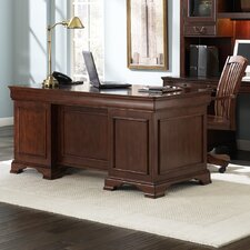 Junior Executive Desk with 2 Flip Drawers
