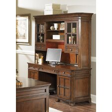 <strong>Liberty Furniture</strong> Remington Junior Executive Credenza Hutch