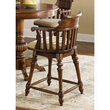 "<strong>Liberty Furniture</strong> Crystal Lakes 24"" Swivel Bar Stool"