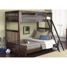 Abbott Ridge Twin Over Full Bunk Bed with Ladder