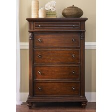 <strong>Liberty Furniture</strong> Royal Landing 5 Drawer Chest
