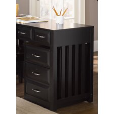 Hampton Bay 3-Drawer Mobile File Cabinet