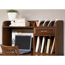 "Hampton Bay 23"" H x 44"" W Desk Hutch"