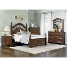 <strong>Liberty Furniture</strong> Laurelwood Panel Bedroom Collection