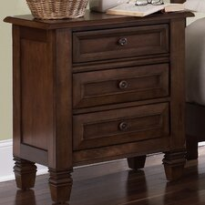 Taylor Springs 3 Drawer Nightstand