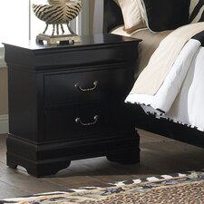 <strong>Liberty Furniture</strong> Carrington 2 Drawer Nightstand