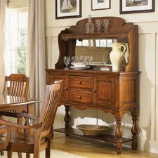 Americana Server Hutch in Chestnut