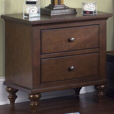 <strong>Liberty Furniture</strong> Abbott Ridge 2 Drawer Nightstand
