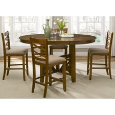 <strong>Liberty Furniture</strong> Bistro 5 Piece Counter Height Dining Set