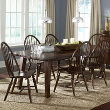 <strong>Liberty Furniture</strong> Cabin Fever Formal 7 Piece Dining Set